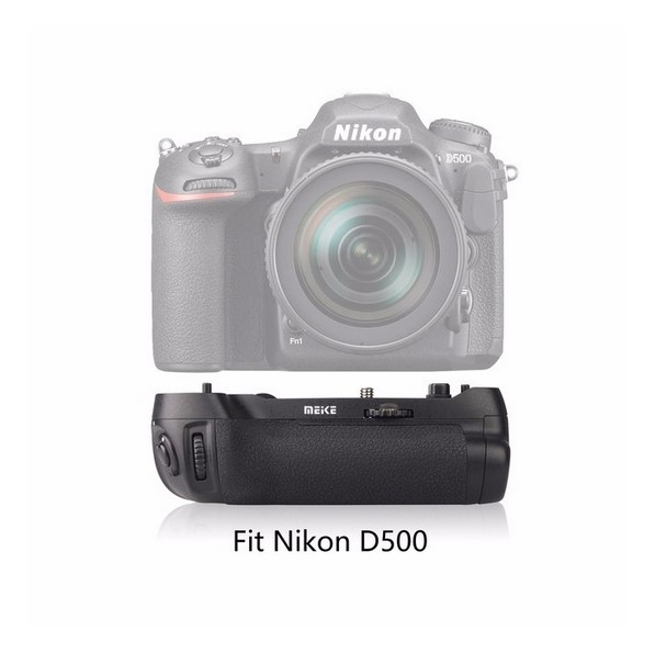 Meike MK-D500 Vertical Battery Grip Shooting for Nikon D500 Camera Replacement of MB-D17 цена