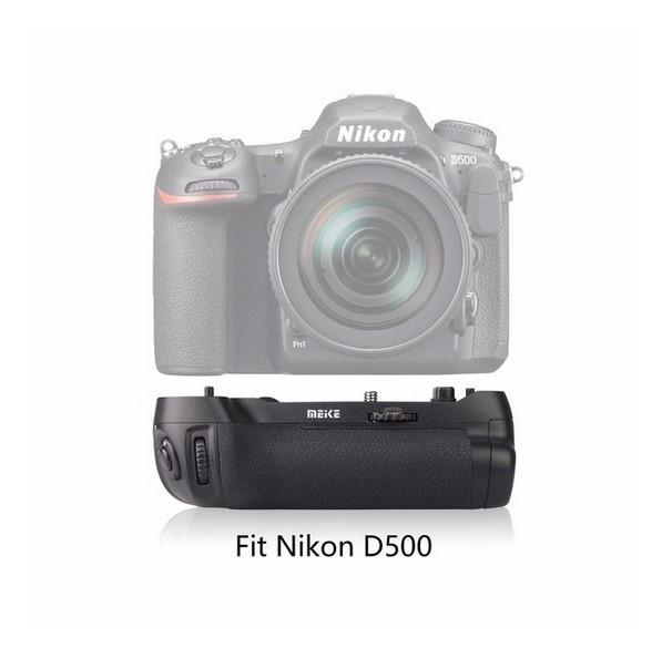Meike riprese mk-d500 battery grip verticale per nikon d500 fotocamera sostituzione di mb-d17Meike riprese mk-d500 battery grip verticale per nikon d500 fotocamera sostituzione di mb-d17