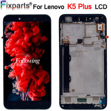 5.0 1920*1080 LCD Lenovo K5 Plus A6020A46 LCD Display With Touch Screen Digitizer Frame Assembly Lenovo Vibe K5 Plus LCD Screen 10 1inch lcd display touch screen digitizer with frame matrix for lenovo tab 3 10 plus tb x103f lcd module screen panel