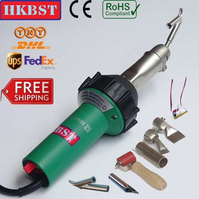 free shipping 110V or 220V 1600W handheld hot air welder gun,plastic welding gun,hot air guns,het guns