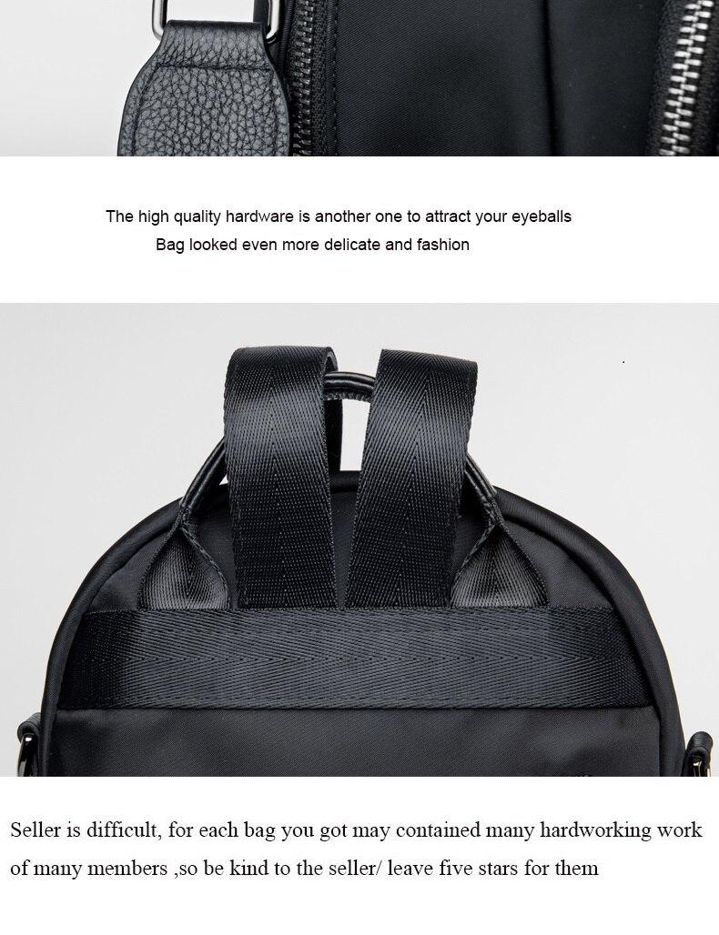 cow&Nylon woman quality bag#HH202 21