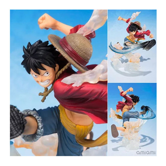 One Piece action figure Monkey D Luffy Figuarts.ZERO 5th Rubber man Anime Collectible PVC toys Doll for christmas gift