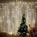 2*2 m LED luces de la Secuencia de iluminación de Vacaciones cortina garland banquete de boda de Hadas jardín al aire libre de interior Iluminación de La Decoración de Navidad