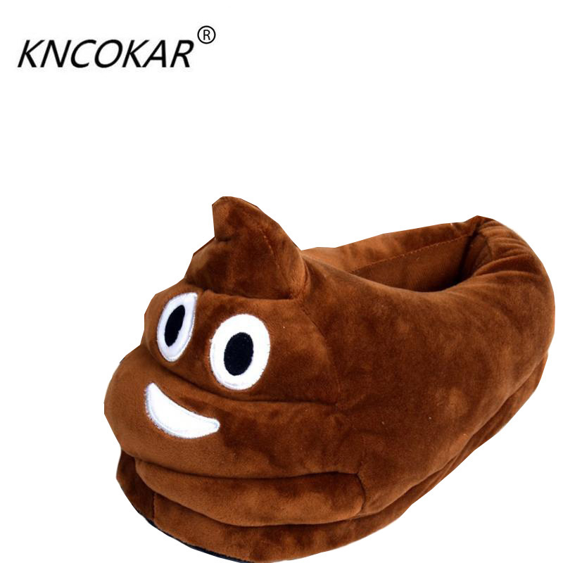 Funny Men Winter Indoor Plush Shoes Lovely Valentine Gift Women Children Stuffed House Shoes Warm House Smiley Emoticon Slippers winter warm soft plush indoor floor home slippers men women children christmas style funny monster dinosaur claw house shoes man