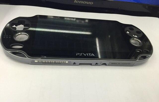 100% новый ЖК экран для Playstation PS Vita PSV 1000 1001, сенсорный дигитайзер, рамка, бесплатная доставка