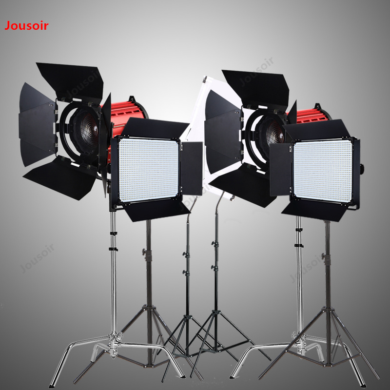 LED200W + D2000 film spot mikro film çekim portre röportaj film çekim seti CD50 T07