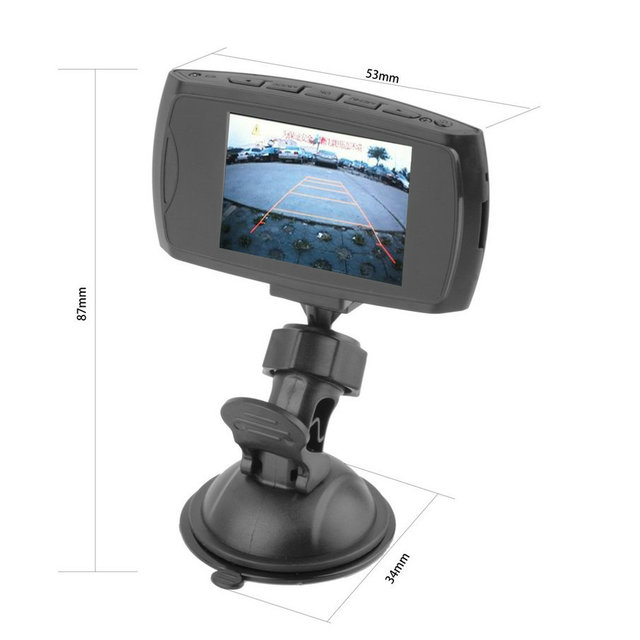 "2015 Best Selling G30 2.7""  Car DVR Camera Recorder Motion Detection Night Vision Free shipping"