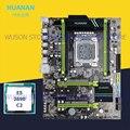 HUANAN ZHI X79 moederbord bundel met dual M.2 NVMe SSD slots korting moederbord met CPU Xeon E5 2690 C2 2 jaar garantie