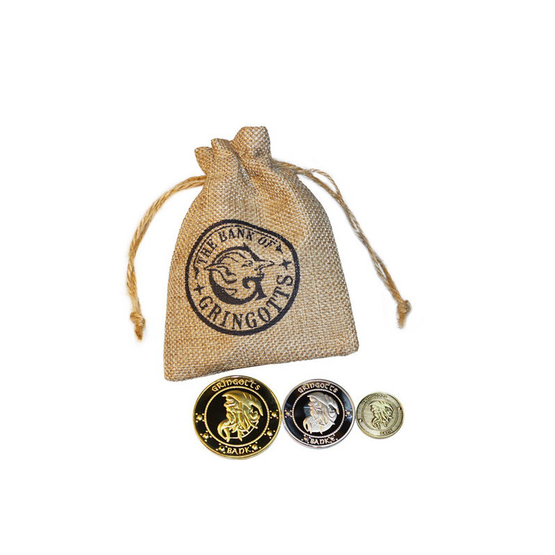 Harry Movie Hogwart Bank Coins Bag Toy Wizarding Magic World Halloween Cosplay Party Show Jouet Children Gift