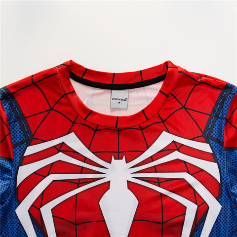 Spiderman T shirts Men Compression T-shirts Fitness Spider Man T-shirts Bodybuilding Top Hot Sale rashguard Brand Islamabad