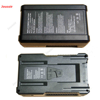 LED Photographic lamp Battery Large lithium battery S BP65HH V-plate camera battery CD05 T07