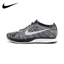 Original Authentic Nike Flyknit Racer Men's Running Shoes Me
