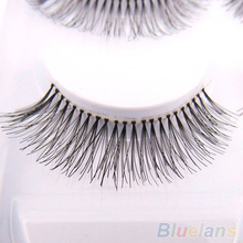 Hot5 Pairs Natural Sparse Cross Eye Lashes Extension Makeup Long False Eyelashes 8TT7
