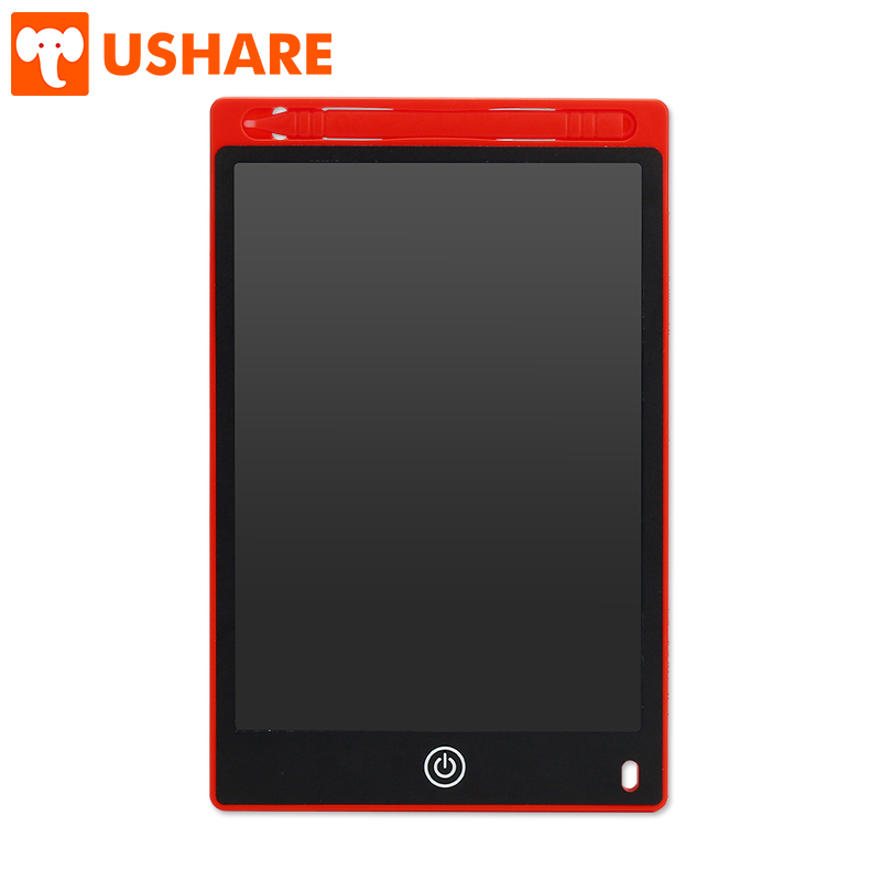 USHARE 8.5 Inch LCD Writing Tablet Portable Message Memo Board And Magnetic Graphics Drawing Pad For Children Educational Gifts