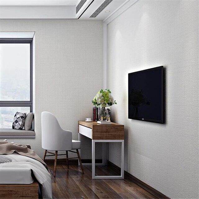 Обои из чистого пигментного цвета, современные минималистичные льняные обои, спальня, полный магазин, гостиная, фон, 3d обои