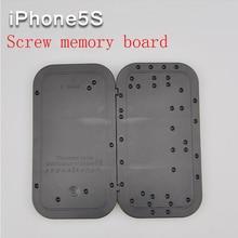 Iphone5s tornillo placa de memoria posición desmontar tarjeta de distribución de herramientas de mantenimiento placa de posicionamiento para el iphone