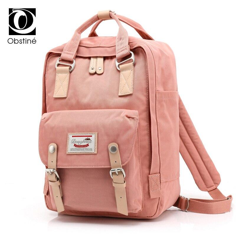 2019 sac à dos de voyage imperméable en Nylon grande capacité sacs à dos femme 14 pouces sac à dos pour ordinateur portable femmes sacs d'école pour adolescentes