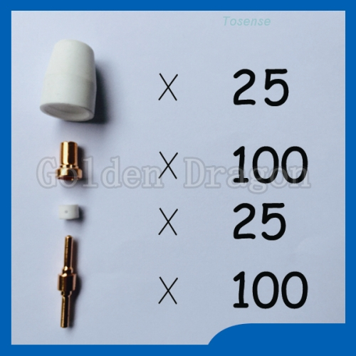 Beautiful price PT31 LG40 Plasma Cutter Consumables cnc Welding Tips Torch Consumables Extended KIT Reasonable price  цены