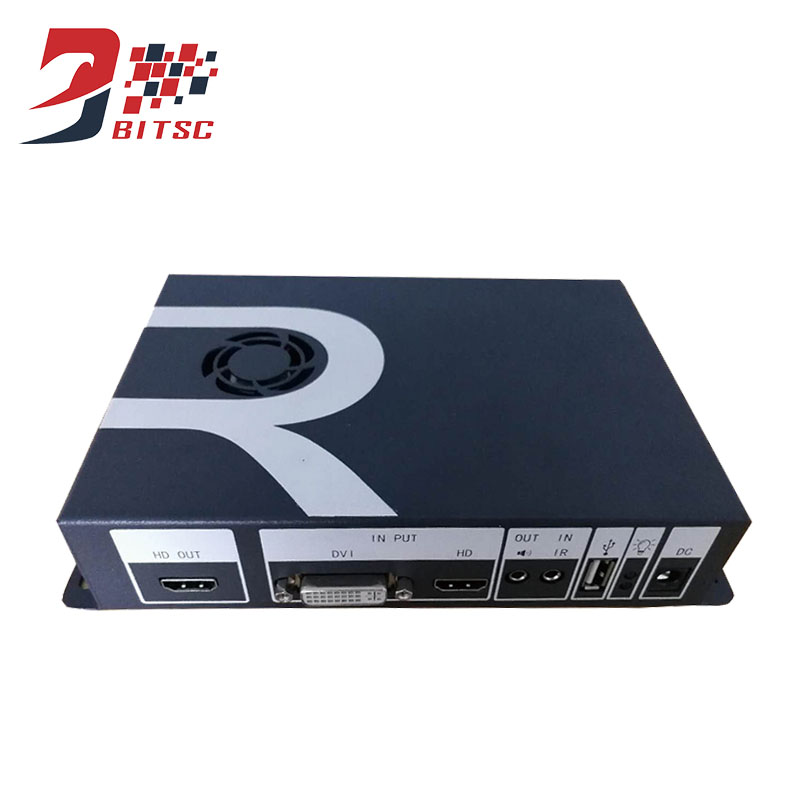 Video Wall Controller HDMI DVI USB Processor video rotate processor rotate 90 degrees 180 degrees 270 degrees for TV monitor