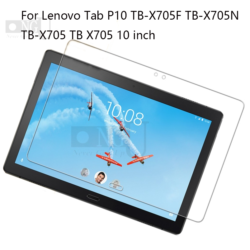 Tempered Glass For Lenovo Tab P10 Screen Protector  Screen Film Guard For TabP10 10.1