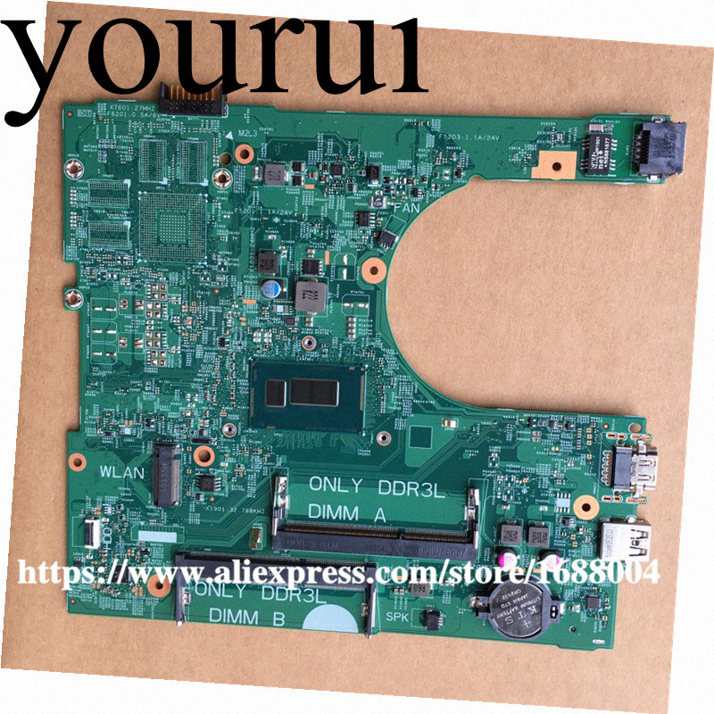 CN-0G9X30 0G9X30 G9X30 14216-1 1XVKN For DELL Inspiron 15 3458 3558 laptop motherboard 46M031MB00165 I3-5015U