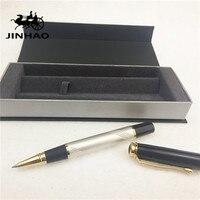 1pcs Lot JINHAO 500 Roller Ball Pen 6 Colors Black White Grey Red Color Pen Gold