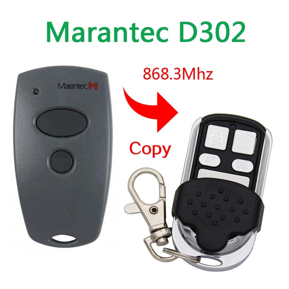 Best Seller Copy Marantec D302 Garage Door Remote Control Universal