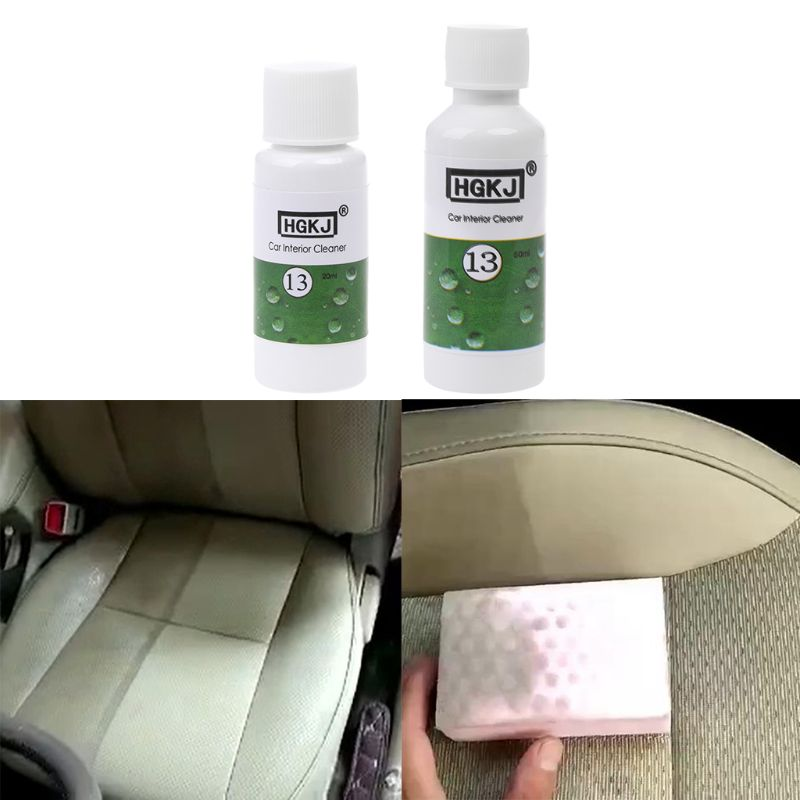 Paint Cleaner Generous New 20ml/50ml Vehicle Car Interior Cleaner Leather Seats Plastic Foam Agent High Concentrate 1:8 Diluted With Water Universal Elegant Shape