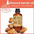 100% чистое основание растительное масло эфирные масла Королевство уход за кожей Французский Абрикос ядрышек масло ядра миндаля масло 100 мл Массаж