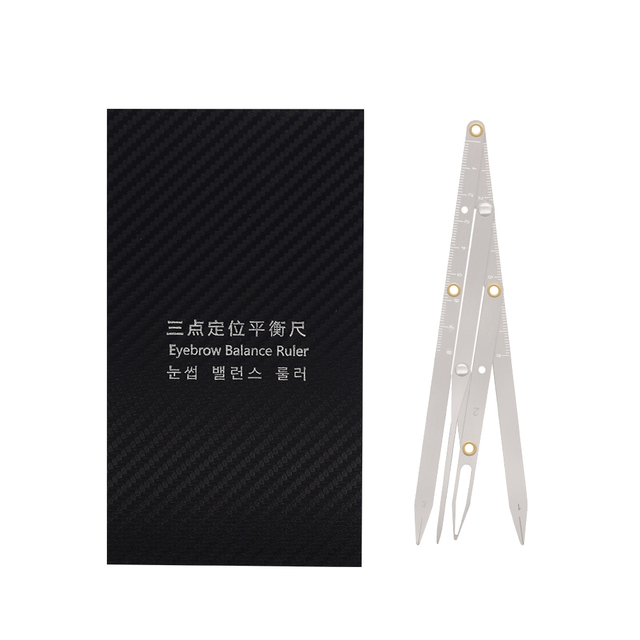 2019 Sale Microblading Tattoo Eyebrow Ruler Stainless Steel Golden Ratio Permanent Makeup Symmetrical Tool Divider Accesories 5