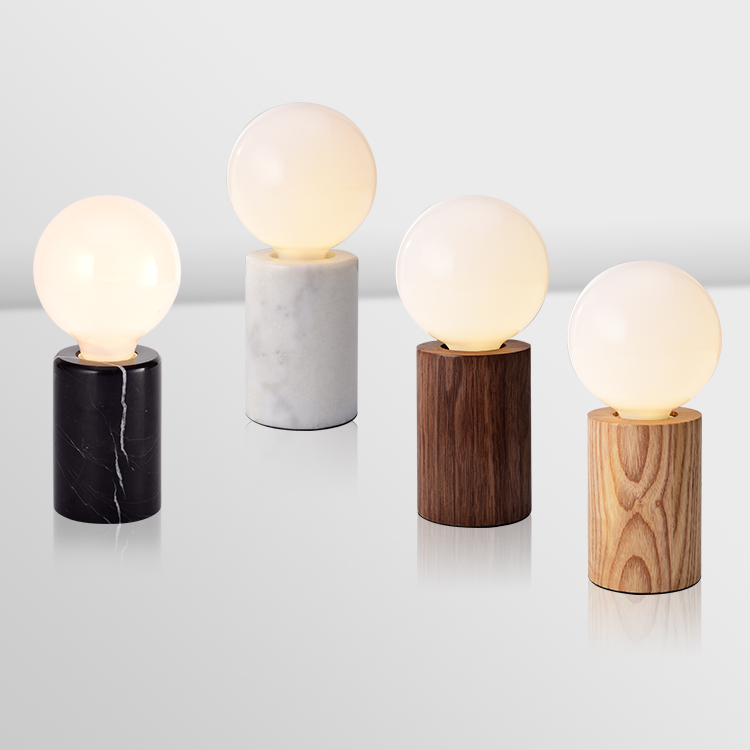 Modern Nordic Glass Table Lamps Bedroom Bedside Reading Desk Lamp Home Decoration LED Table Lights E27 Lamparas Lighting Fixture nordic dia 20cm white glass ball table lamp gold bedside table lamps e27 led desk light for bedroom lamparas de mesa tafellamp