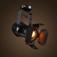 Подвесной светильник E27 светодиодные лампы Железный винтажный дизайн для столовой Бар отеля кофе магазин одежда shore отслеживания лампы аме