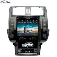 13,6 «плюс Tesla Syle вертикальный экран Android Автомобильная dvd-навигационная система радио плеер для Toyota Prado 150 Land Cruiser 2010-2017