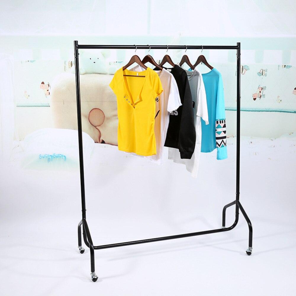 Garment Cloth Rack Closet Organizer Clothes Stand Hanger Wardrobe Home  Shelf Without Cover Organizador In Hangers U0026 Racks From Home U0026 Garden On ...