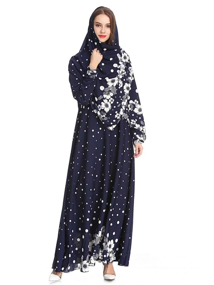 ac2b1f777acc Front open Muslim women long sleeve lace jibab abaya coat with belt USD  33.33/piece. Dubai Muslim lady long sleeve elegant chiffon dress ...