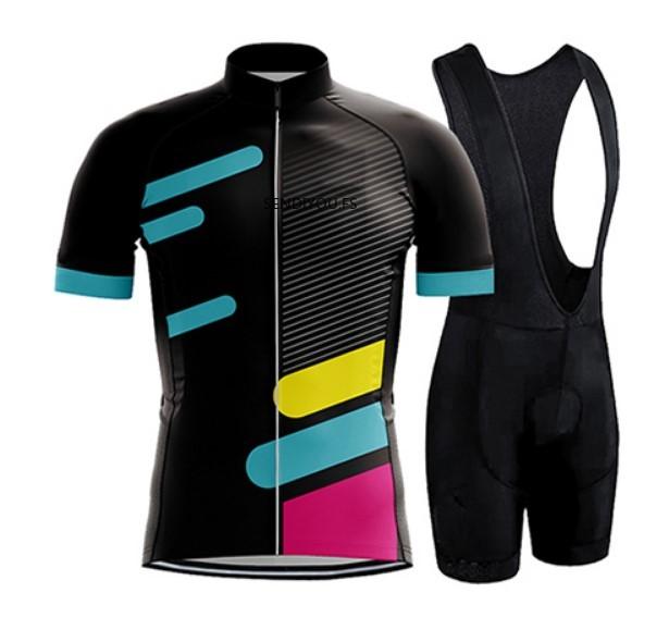 SENDIYOU.FS 2018 Cycling Jersey Set Men Triathlon Bike Uniform Raiders Chinese Clothes For Men Men Lycra Spandex Cycling