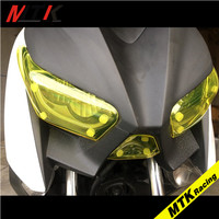 MTKRACING XMAX 250 Motorbikes Parts For Yamaha XMAX 250 300 2016 2018 ABS Headlight Protector Cover
