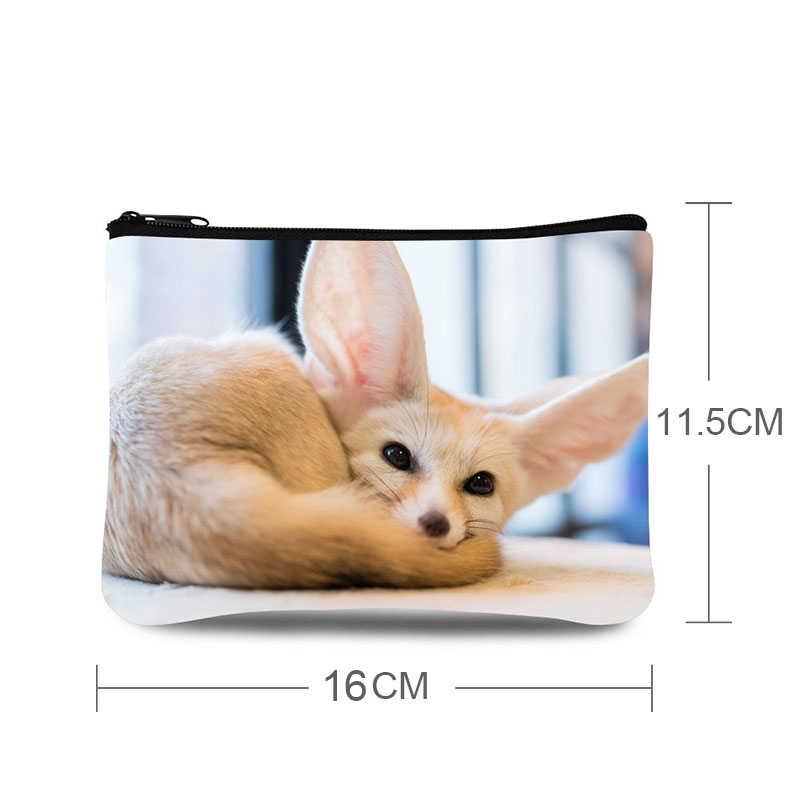 Small Coin Purse Animal Print Kids Wallet Pouch Girls Wallet Bag Women Coin Pouch Mini Money Bag