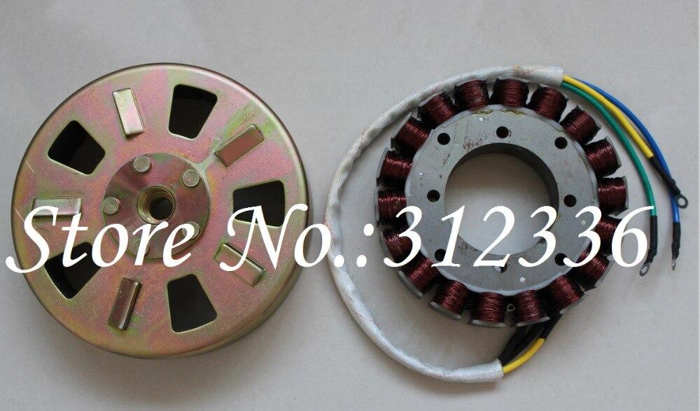 Генератор переменного тока 4 кВт 4000 Вт 48 В/60 в/72 в, Электрический трехколесный велосипед, четыре колеса, зарядка автомобиля, поколение электр