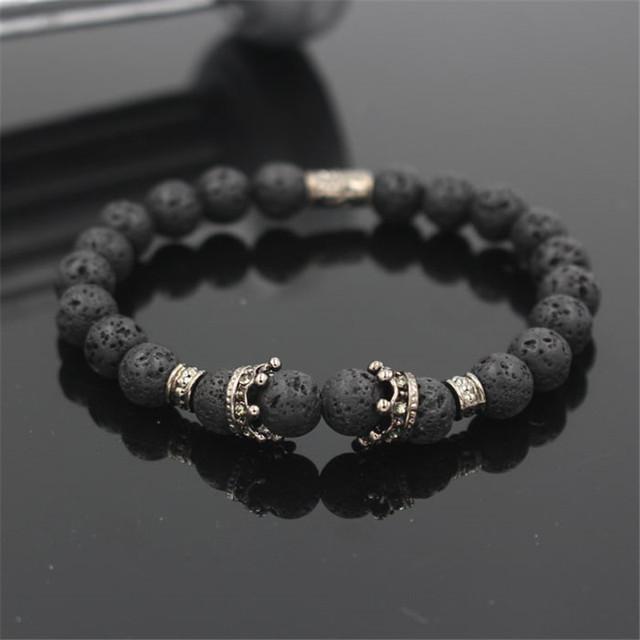 Fashion Stone Beaded Bracelet for Men