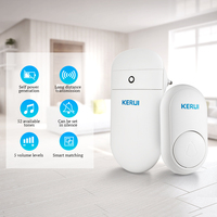 KERUI M518 Self Generation Wireless Doorbell Home Smart Electronic Remote Control Long Distance No Battery Cordless