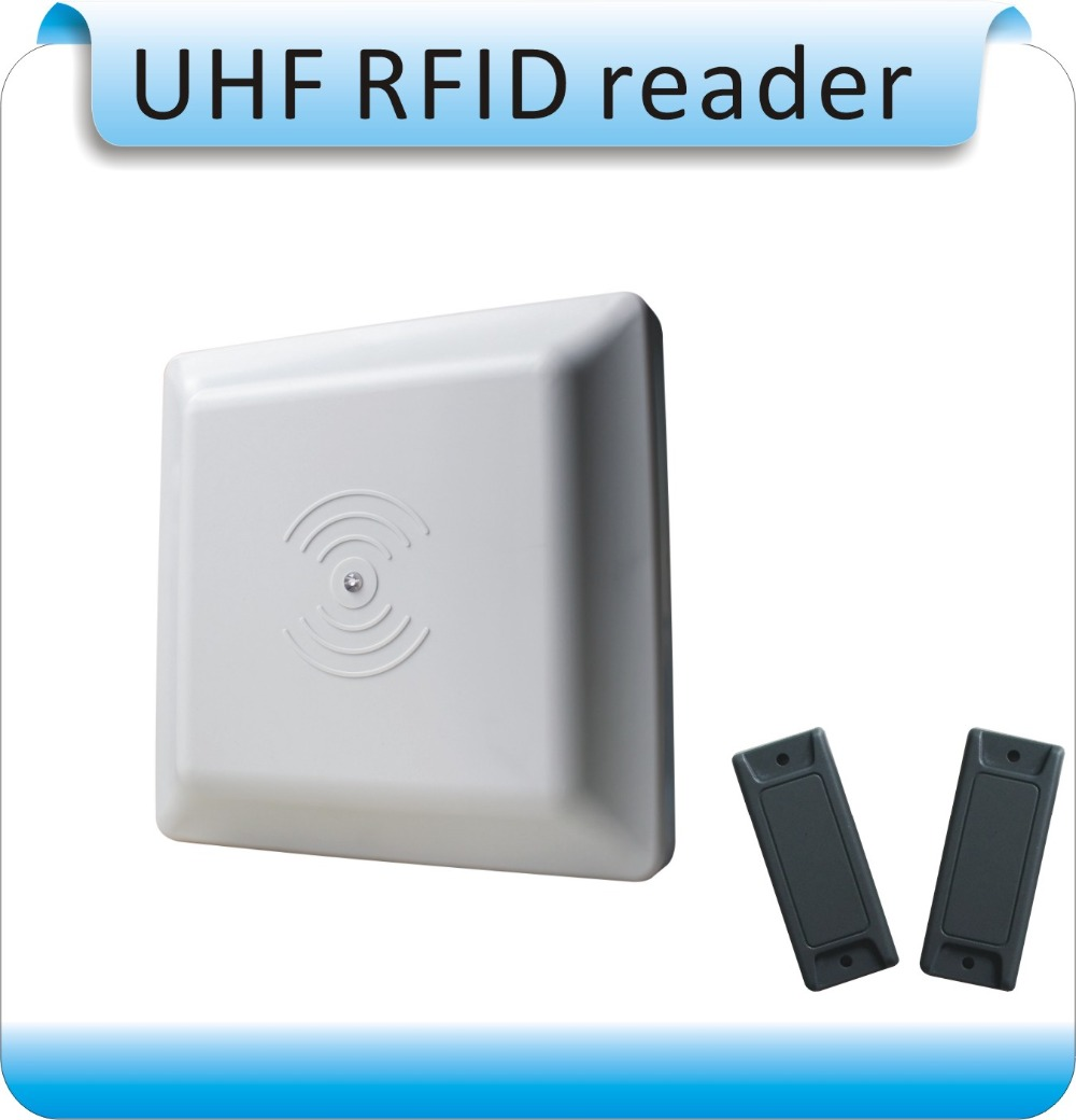 ISO18000 6C UHF font b RFID b font reader 8dbi Antenna RS232 RS485 Wiegand Read 3