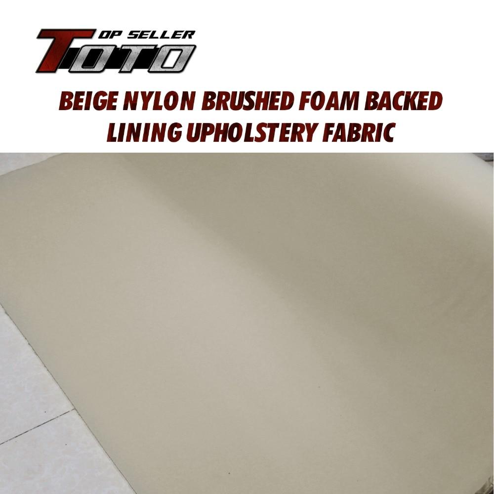 2шт 80см*420cm//31inch*165 замена обивка потолка обивка ткань светло-бежевый потолок автотранспорта РВ боа