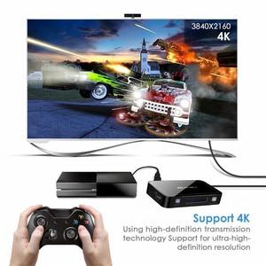 Image 4 - 4 Poort 18Gbps Hdr 4K Hdmi Switch 4X1 Ondersteuning Hdcp 2.2 Mini Hdmi 2.0 Switcher Hub box Met Ir Afstandsbediening Voor Apple Tv