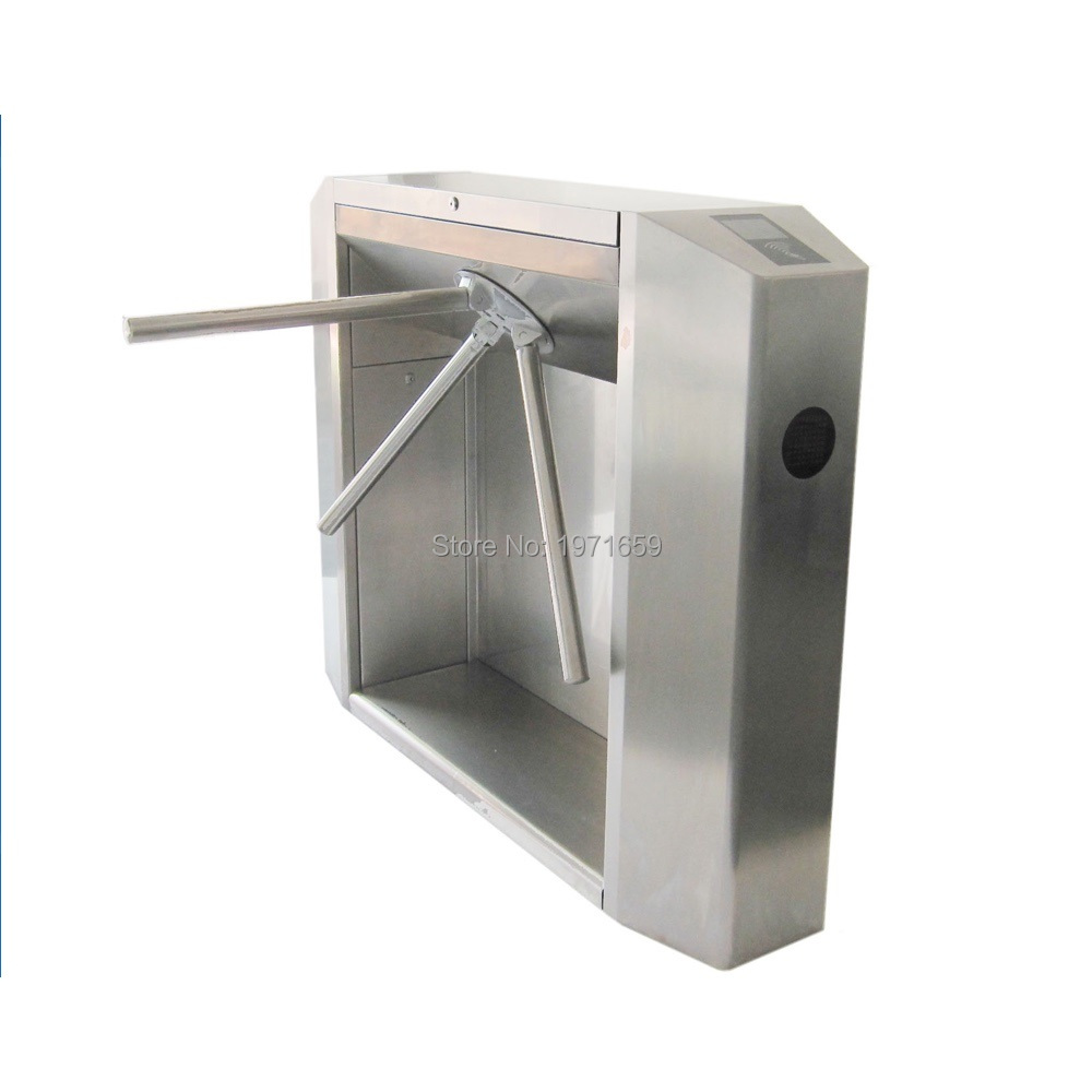 full tripod turnstile three-armed rotating security gate operater for access control system access control system factory price vertical semi automatic tripod turnstile gate