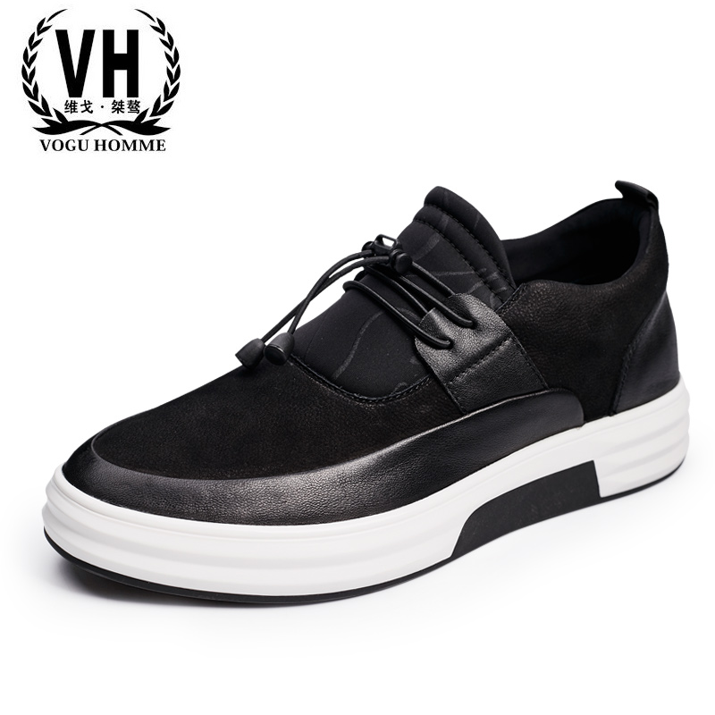 17 British youth sports men shoes breathable leather popular soft all-match increased male tide type shoes жк телевизор supra 39 stv lc40st1000f stv lc40st1000f