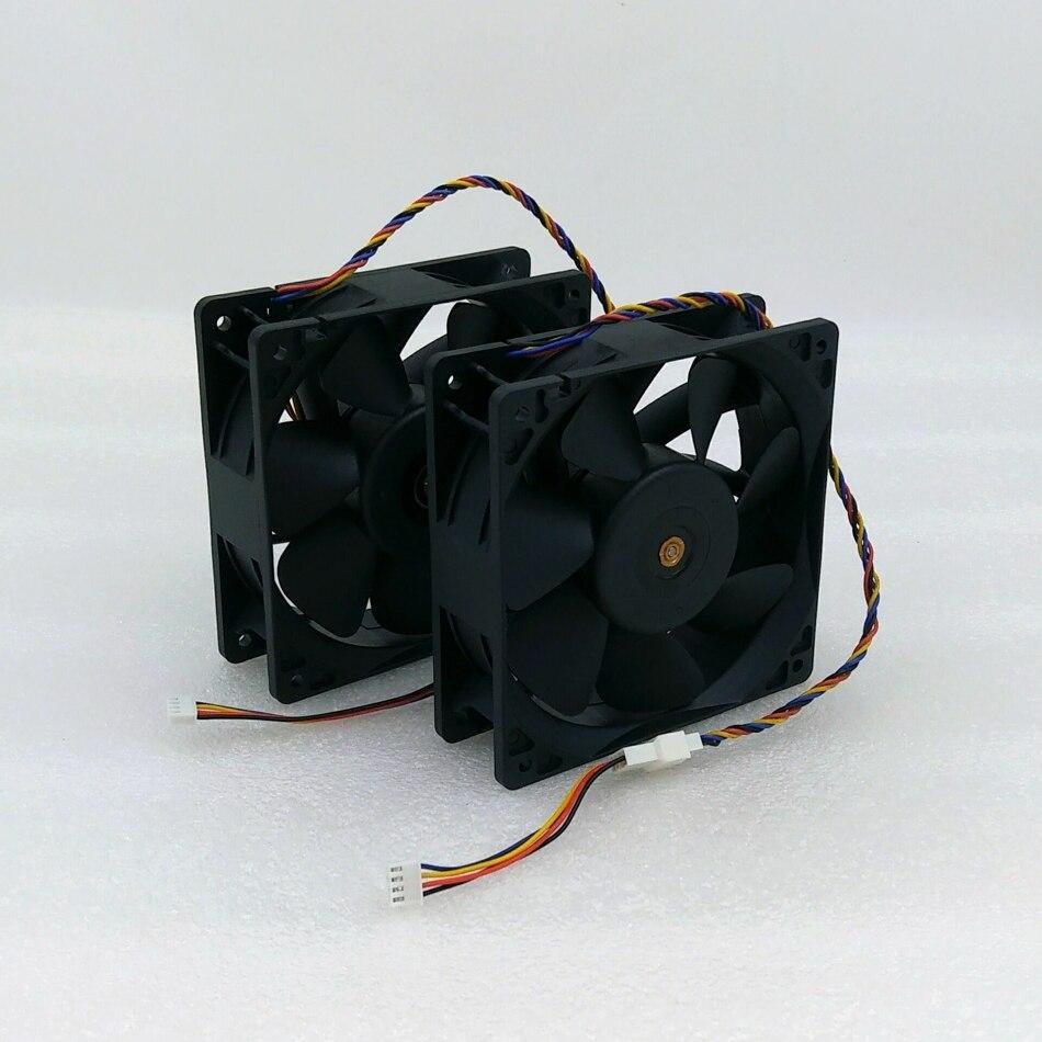 Bitcoin BTC BCH Asic górnik wentylator, 6000 RPM wentylator dla Bitmain Antminer S9 S9k T9 Z11 Z9 Baikal X10 G28 Innosilicon A9 Ebit E9