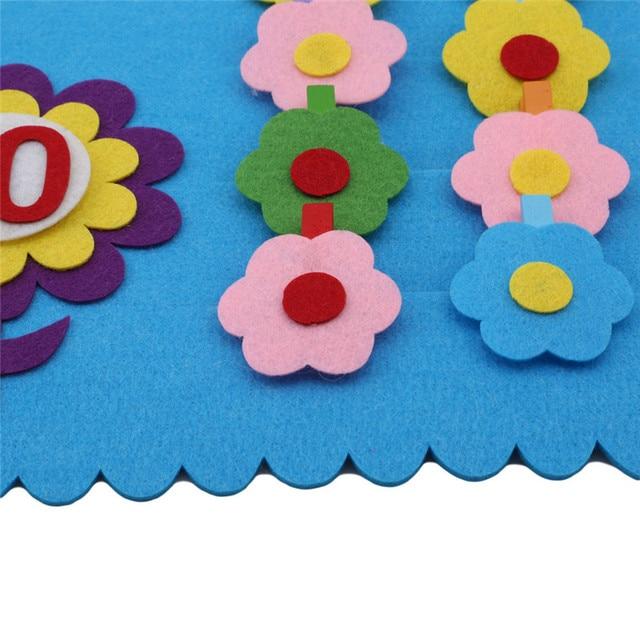 2018 DIY Teaching Kindergarten Manual Cloth Early Learning Education Toys Montessori Teaching Aids Math Toys