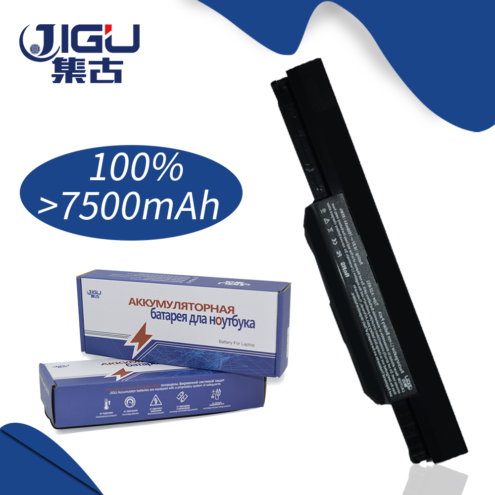 JIGU 9 Cells Laptop Battery For Asus K53 Series K53BY K53J K53JE K53JN K53S K53SD K53SN K53TA K43JS K43SC K43SJ K43SV new laptop for asus a53t k53u k53b x53u k53t k53t k53 x53b k53ta k53z top lcd plamrst cover bottom cover hinges speaker jack