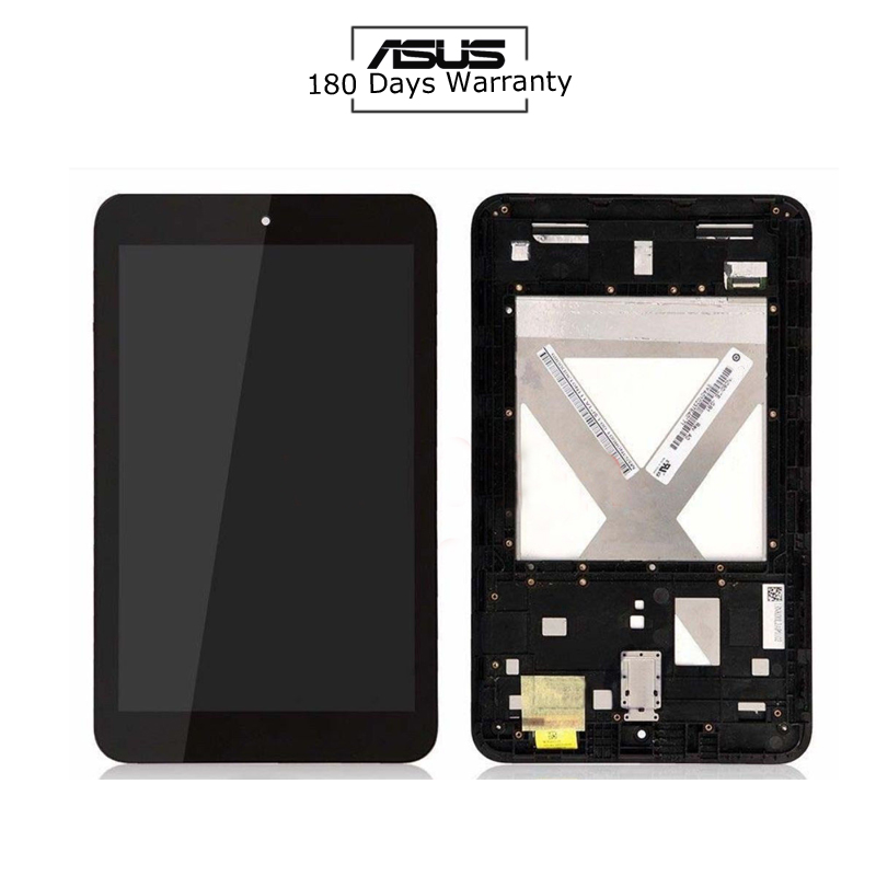New 8'' inch For Asus MeMO Pad 8 ME180 ME180A digitizer touch screen with lcd display assembly Frame used parts lcd display monitor touch screen panel digitizer assembly frame for asus memo pad smart me301 me301t k001 tf301t